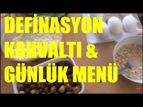 Yarışma için uyguladığım definasyon Kahvaltı ve günlük yemeğim Son 8-4 Hafta)(Haftada 1 gün)