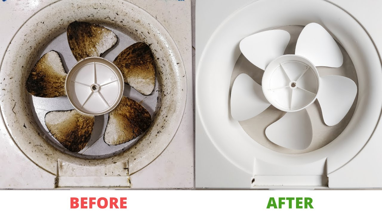 how to clean kitchen exhaust fan how to remove exhaust fan blades