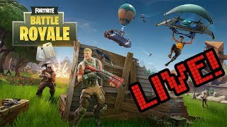 [LIVE 🥔] Fortnite Live Stream - Research And Get Destroyed!! *Noob Alert!!