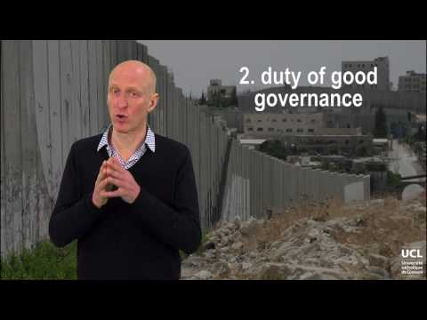 The law applicable to occupation