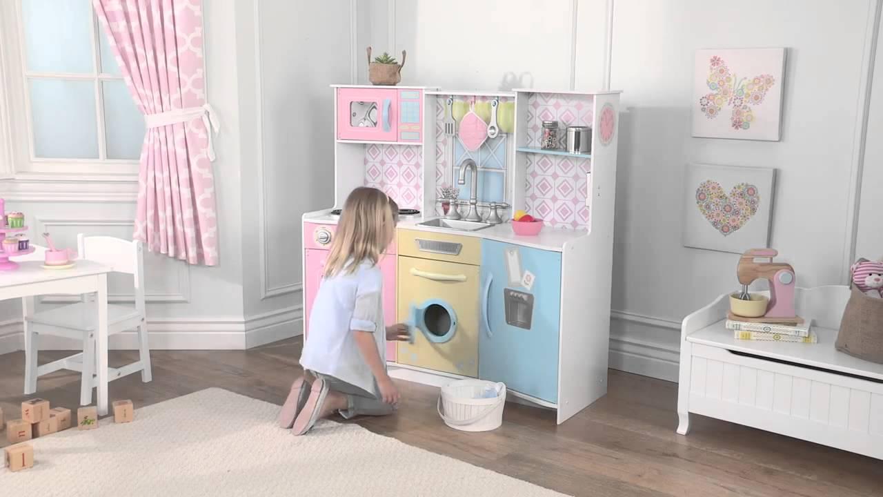 Kidkraft cocina completa en madera juguetes madrid - Cocina lidl juguete ...