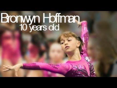 Bronwyn Hoffman - Amazing 10 year old gymnast! (Level 8)