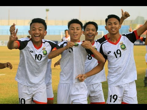 AFF U-16 Championship: Brunei Darussalam vs Laos