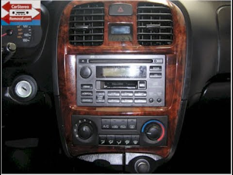 Acura Radio Wiring Diagram Hyundai Sonata Car Stereo Removal Youtube