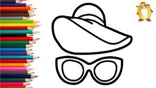 Раскраска для детей ПЛЯЖНЫЙ НАБОР. Мультик - Раскраска. Учим цвета II ОБУЧАШКА ТВ