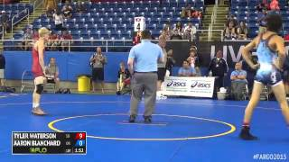 Gambar cover 126 Champ. Round 1 - Aaron Blanchard (Oregon) vs. Tyler Waterson (South Dakota)