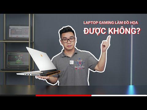 Laptop Gaming có làm đồ họa được không?