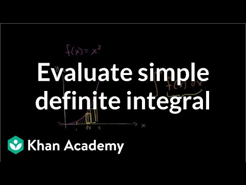 Area between a curve and the x-axis | AP Calculus AB | Khan Academy