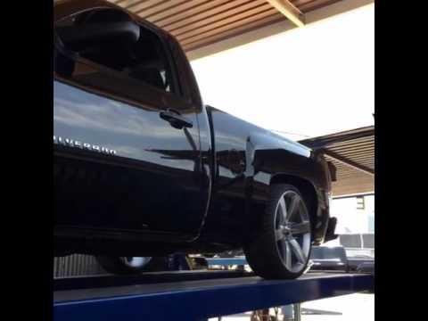 Silverado corvette style exhaust