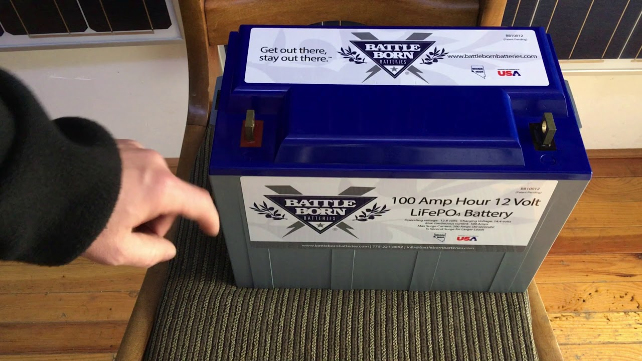 Unboxing the Battle Born, 100AH, 12V Lithium Battery for our Off Grid  Showroom in Portland