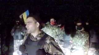 Ukraine idiots from Right Sector  tried to seize the  nuclear power plant  16/05/ 14