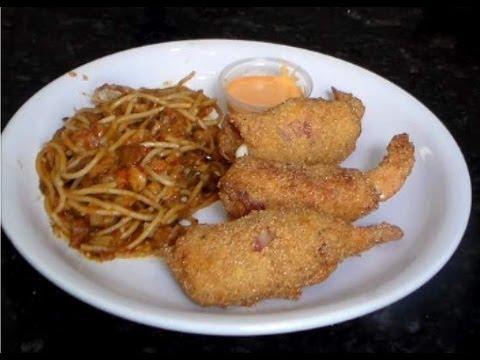Fried Shrimp Brochette -