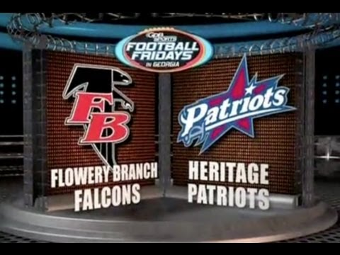 Flowery Branch vs Heritage (GPB HS FOOTBALL) (10/14/11)