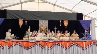 Part 1 of 6 - Bhajan at Sri Guruvayurappan Temple Kumbhabishekam 2012(NJ)