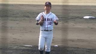 2017.3.19 吉備国際大・尾崎 涼投手