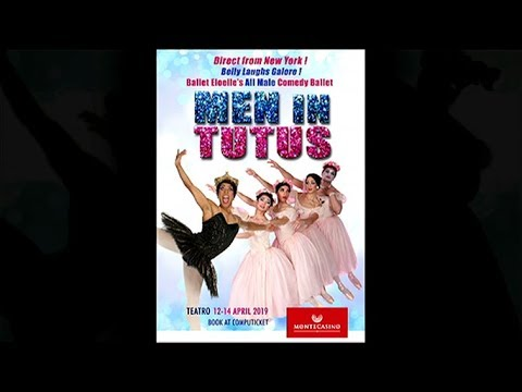 b34aa6ec2 Men in Tutus at Montecasino Teatro - YouTube