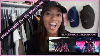 BLACKPINK - '뚜두뚜두 (DDU-DU DDU-DU)' M/V Cover | by DEKSORKRAO [reaction]