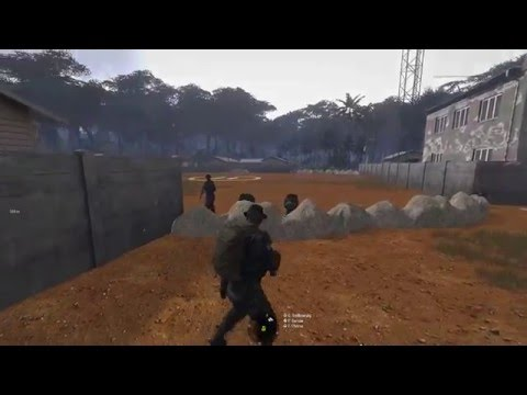 "Arma 3 - Base defence ""operation Reclamation"""
