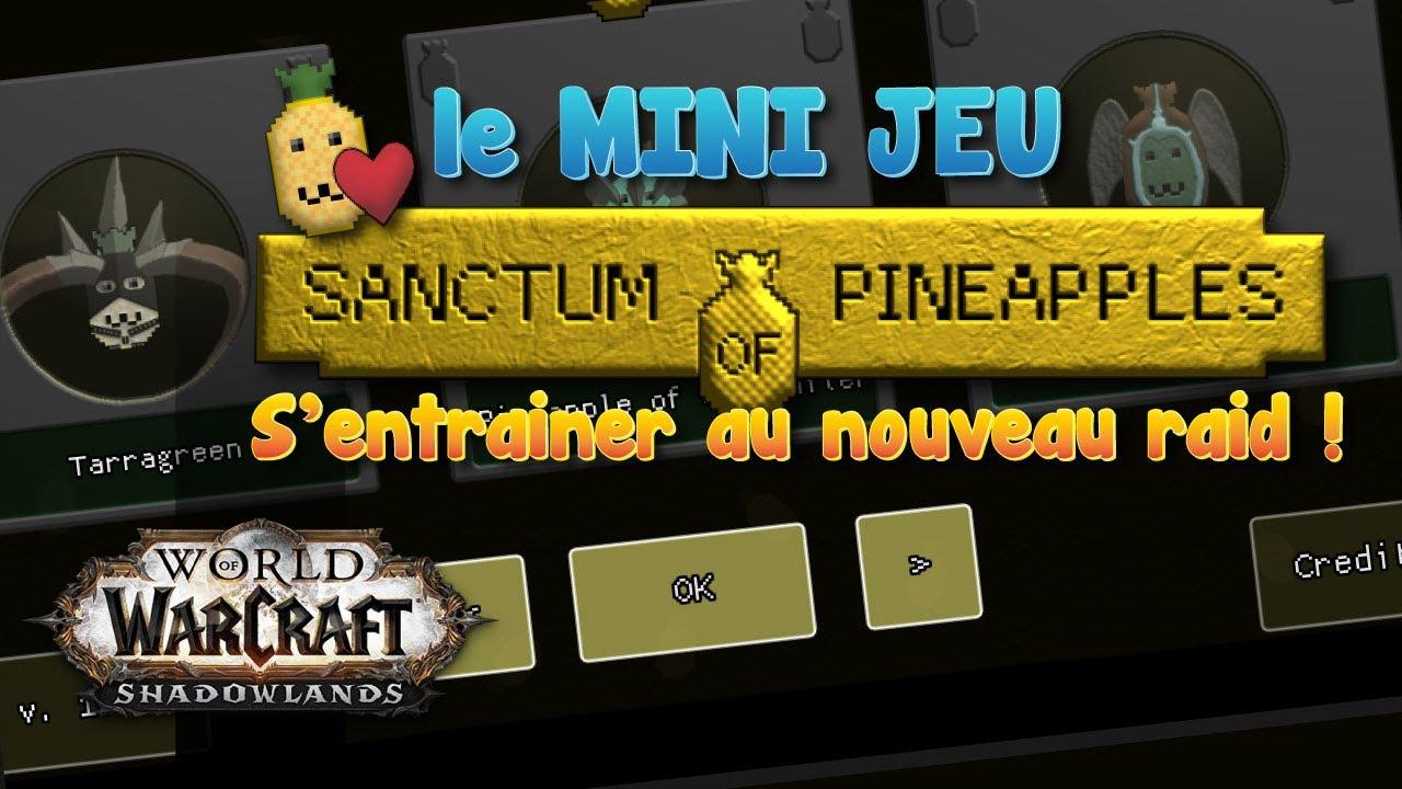 Ce mini-jeu est EXCELLENT pour apprendre le RAID Sanctum de la domination 9.1