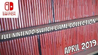 Full Nintendo Switch Game Collection Video April 2019