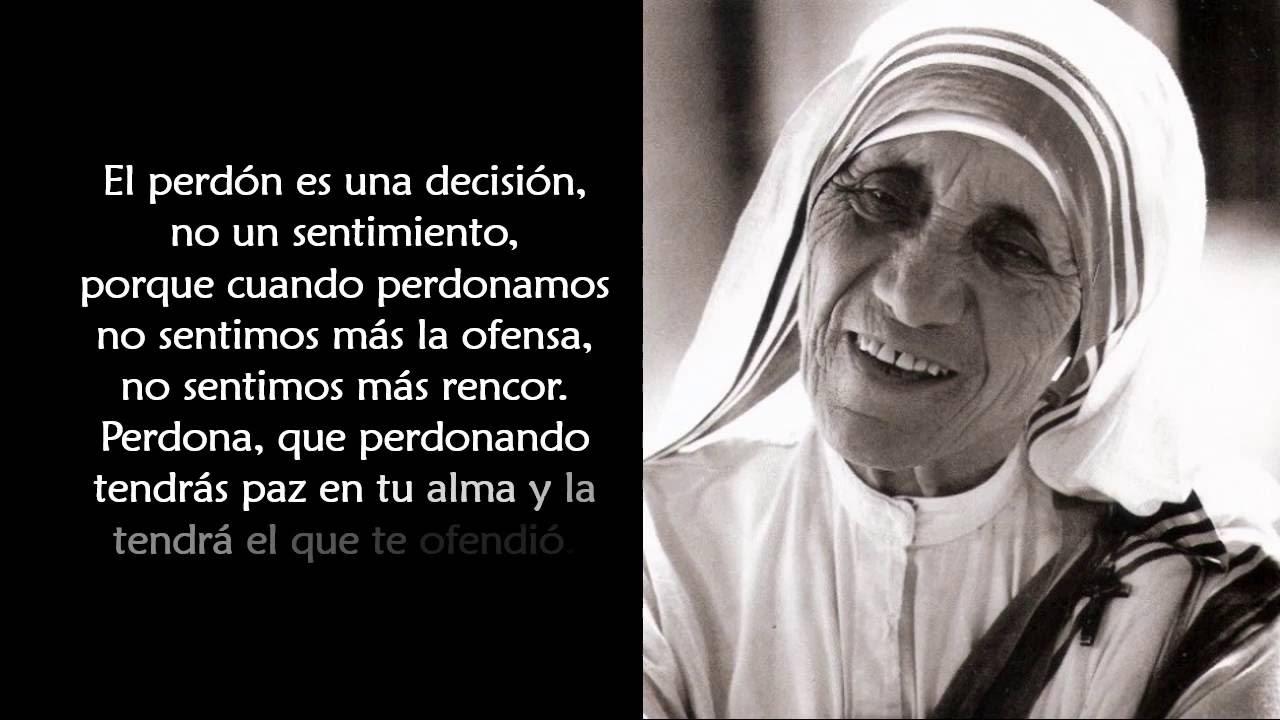 Pensamientos De S Madre Teresa De Calcuta Youtube