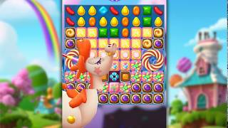 Candy Crush Friends Saga Level 713 (3 stars, No boosters)