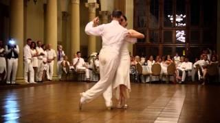 Alma de Tango Signature White Party 2014 - Monica Llobet & Richard Council, A Mis Compañeros