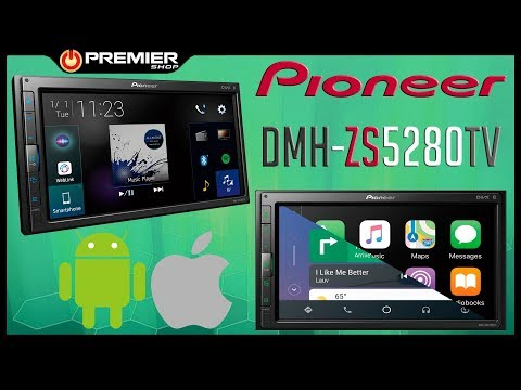 Central Multimídia Pioneer DMH-ZS5280TV - Modular - [ Premier Shop ]