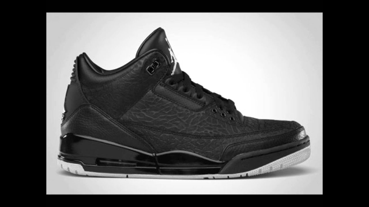 top air jordan 3 colorways