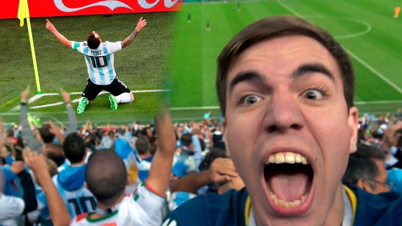 Argentina vs Nigeria 2-1 REACCIONES DE UN HINCHA EN RUSIA MUNDIAL 2018