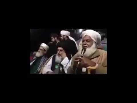 Molvi Khadim Hussain rizvi ka sathi kya farma rha zra check krien