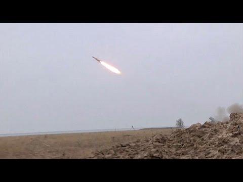 Ucrânia testa novos mísseis com sucesso