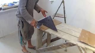 видео панно из плитки на стену