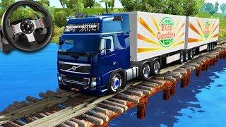 VIAGEM NO BRASIL com BITREM!!! - Euro Truck Simulator 2 + G27