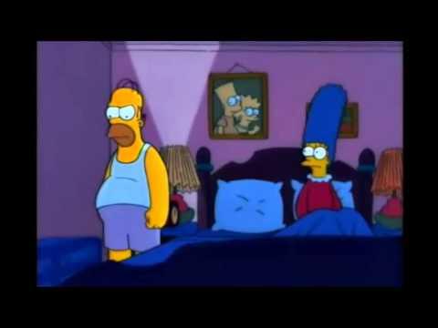 Buenas noches - Homero Simpson