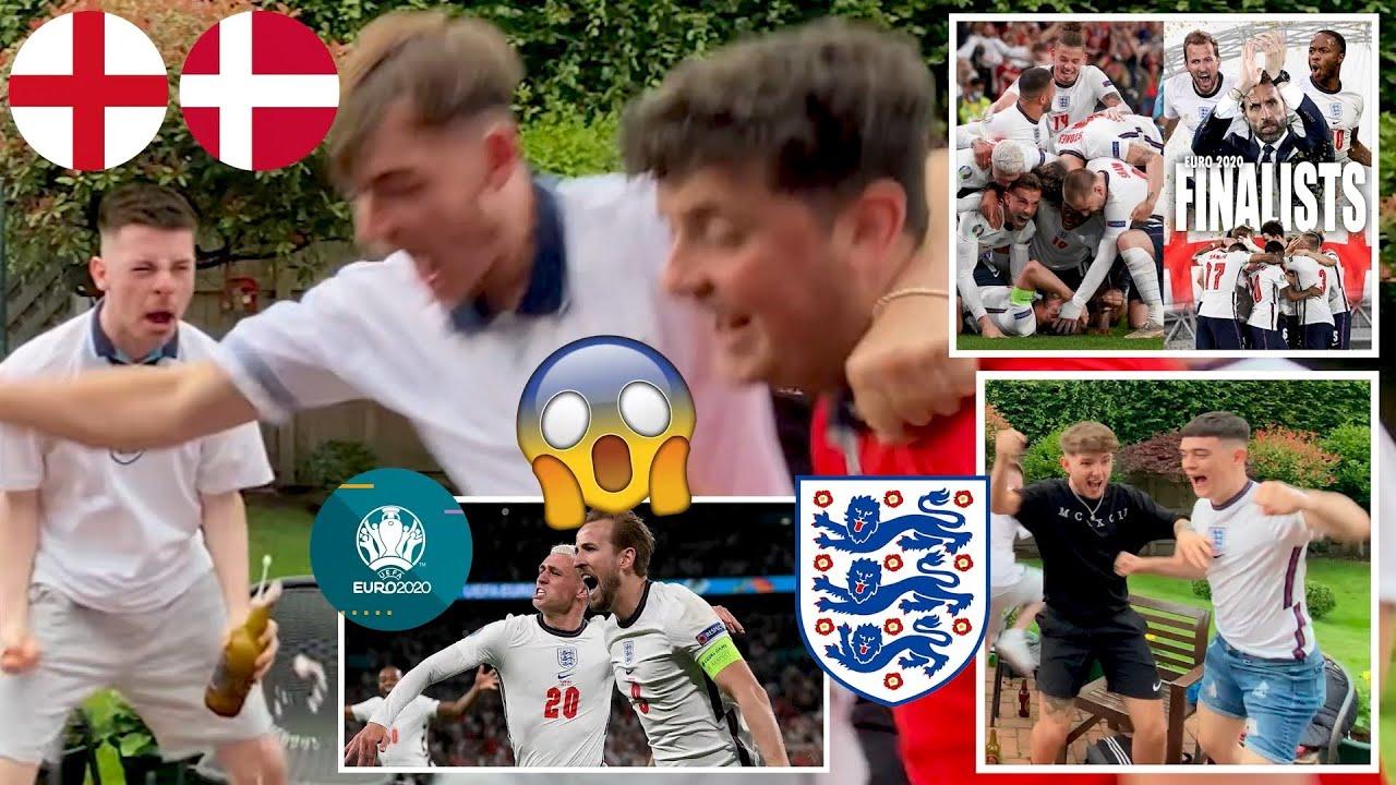 FAN REACTION: England reach the FINAL!🤯🤩 | England 2-1 Denmark | UEFA Euro 2020