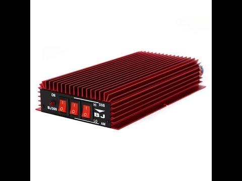видео: КВ усилитель bj300 - испытание на 7 мГц