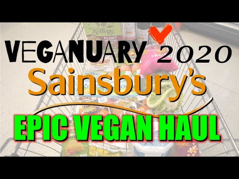 veganuary-2020- -epic-vegan-sainsbury's-haul- -come-shopping-with-us!-:)