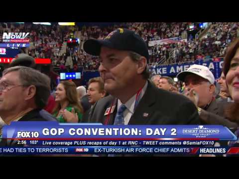 WATCH: Rep. Chris Collins Nominates Donald Trump for President at GOP Convention