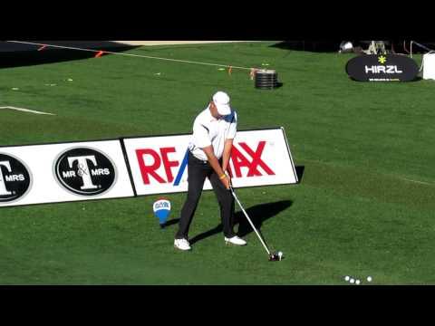 Chad Roberts hitting Krank Golf Rage Driver