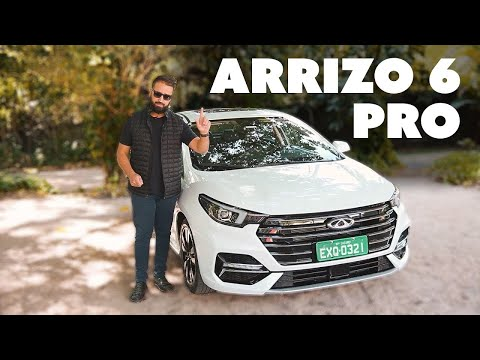 NOVO CAOA CHERY ARRIZO 6 PRO: tão bom quanto Corolla e Civic?