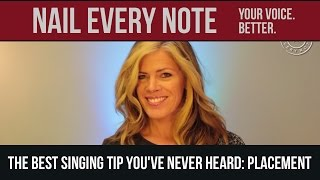 The Best Singing Tip You