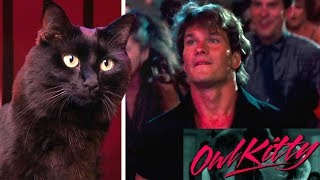 Dirty Dancing - with my cat