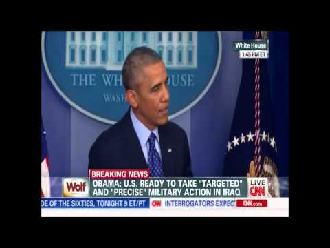 Obama Lies about Why Troops Not Left in Iraq - 2014