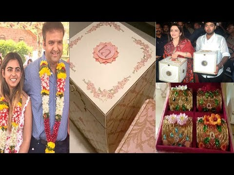 World Most Expensive Wedding Invitation Cards | Mukesh Ambani Daughter Isha Ambani & Anand Piramal