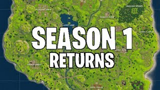 FORTNITE: SEASON 1 RETURNING! *LEAKED EVENT* AUDIO/SOUND EFFECTS (VOLCANO ERUPTION)