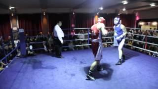 White Collar Boxing London - Jimbo Barry Vs Dean English