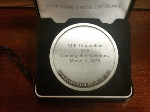 Ringing the Opening Bell at the New York Stock Exchange