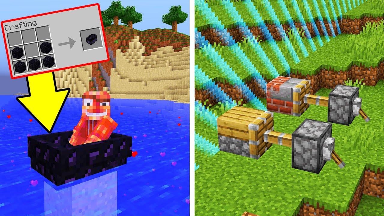 10 Lagi RAHASIA Minecraft Yang Tidak Kalian Ketahui