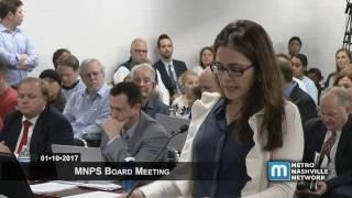01/10/17 Mnps Board Meeting